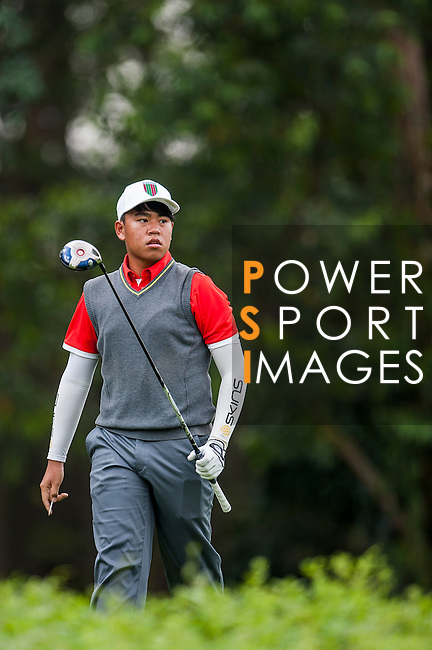 Sutthinun Sinsuntites ofThailand in action at the 9th Faldo Series Asia Grand Final 2014 golf tournament on March 18, 2015 at Faldo course in Mid Valley clubhouse in Shenzhen, China. Photo by Xaume Olleros / Power Sport Images