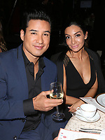 BEVERLY HILLS, CA - OCTOBER 12: ***HOUSE COVERAGE***  Mario Lopez and Courtney Maza at the Eva Longoria Foundation Gala at The Four Seasons Beverly Hills in Beverly Hills, California on October 12, 2017. Credit: Faye Sadou/MediaPunch