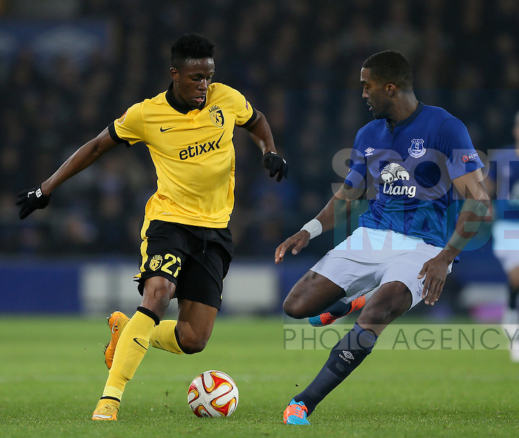 Divock Origi of Lille - UEFA Europa League - Everton vs  Lille - Goodison Park Stadium - Liverpool - England - 6th November 2014 - Pic Simon Bellis/Sportimage