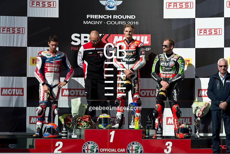 2016 FIM Superbike World Championship, Round 11, Magny Cours, France, Chaz Davies, Ducati