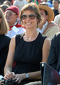Washington, DC - October 17, 2007 -- Actress Carey Lowell smiles as she watches her husband, activist and actor Richard Gere moderate the program where The 14th Dalai Lama, Tenzin Gyatso, makes a speech on the West Lawn of the United States Capitol in Washington, D.C. on Wednesday, October 17, 2007.  Earlier, inside the Rotunda of The Capitol the Dalai Lama accepted the Congressional Gold Medal, the nation's highest and most distinguished civilian award..Credit: Ron Sachs/CNP