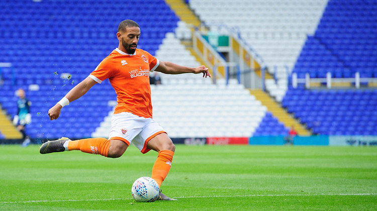 Blackpool's Liam Feeney<br /> <br /> Photographer Chris Vaughan/CameraSport<br /> <br /> The EFL Sky Bet League One - Coventry City v Blackpool - Saturday 7th September 2019 - St Andrew's - Birmingham<br /> <br /> World Copyright © 2019 CameraSport. All rights reserved. 43 Linden Ave. Countesthorpe. Leicester. England. LE8 5PG - Tel: +44 (0) 116 277 4147 - admin@camerasport.com - www.camerasport.com