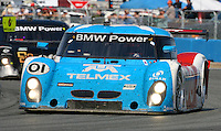 30 January 2011: The winning Ganassi Racing BMW Riley of Scott Pruett, Memo Rojas, Graham Rahal and Joey Hand races to victory in the  Rolex 24 at Daytona, Daytona International Speedway, Daytona Beach, FL (Photo by Brian Cleary/www.bcpix.com)