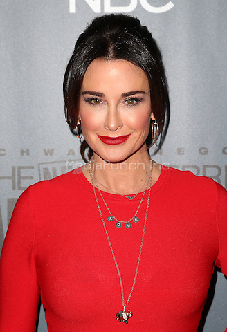 "Universal City, CA - DECEMBER 09: Kyle Richards, At Q&A For NBC's "" The New Celebrity Apprentice"" At NBC Universal Lot, California on December 09, 2016. Credit: Faye Sadou/MediaPunch"