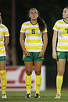 04 September 2015: Oregon's Sofia Chambers. The North Carolina State University Wolfpack hosted the Oregon University Ducks at Dail Soccer Field in Raleigh, NC in a 2015 NCAA Division I Women's Soccer game. NC State won the game 2-0.