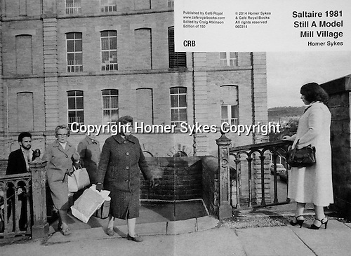 Saltaire 1981 Still A Model Mill Village<br />