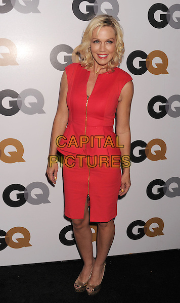 Jennie Garth.Arriving at the GQ Men Of The Year Party at Chateau Marmont Hotel in Los Angeles, California, USA..November 13th, 2012.full length dress pink peplum zip zipper red sleeveless.CAP/ROT/TM.©Tony Michaels/Roth Stock/Capital Pictures
