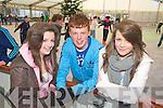 Pictured at Killarney on Ice on Saturday were Emer Bucjkley, Killarney, Shane O'Sullivan, Milltown and Katie Cronin, Killarney.