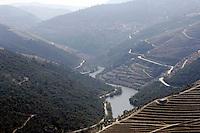 General view of the Douro River in Porto