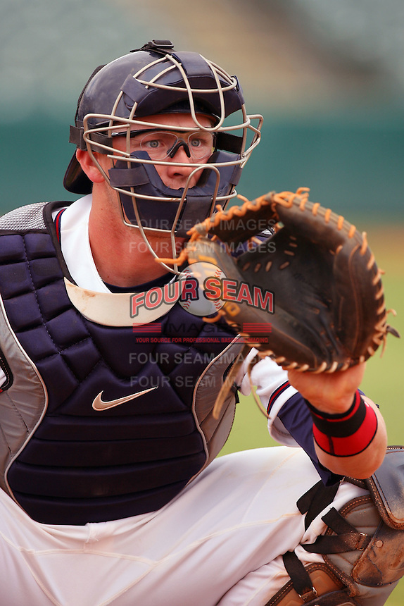 May 22 2008: Jon Still of the Lancaster JetHawks during game against the Stockton Ports at Clear Channel Stadium in Lancaster,CA.  Photo by Larry Goren/Four Seam Images