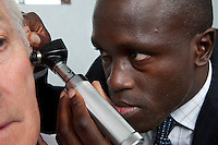 Consultant ENT Head & Neck Surgeon Examination ear examination