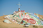 Leonard Knight's Salvation Mountain, Slab City in California's Imperial Valley