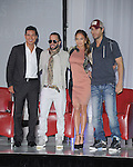 Mario Lopez,Yandel,Jennifer Lopez and Enrique Iglesias  and Atlantico Rum celebrate the upcoming Enrique Iglesias, Jennifer Lopez and Wisin & Yandel Tour at Boulevard3 on April 30, 2012 in Hollywood, California.  in Hollywood, California on April 30,2012                                                                               © 2012 Debbie VanStory / Hollywood Press Agency