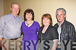 DANCERS: Dancing the night away at the Michael Denver Country & Western night in the Brandon Hotel, Conference Centre, on Friday night,l-r: Michael and Barbara Scannell (Abbeyfeale) Ann and Frankie O'Connor (Abbeydorney).