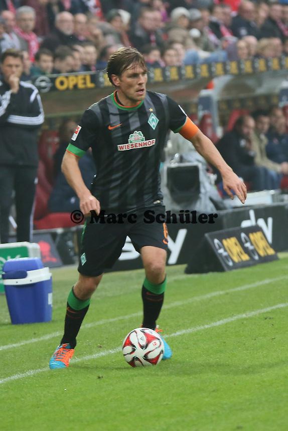 Clemens Fritz (Werder) - 1. FSV Mainz 05 vs. SV Werder Bremenl, Coface Arena