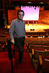 Kynan Johns, Associate Professor and Conductor of the Rutgers University Symphony Orchestra inside the Nicholas Music Center on the Rutgers Campus in New Brunswick, N.J.