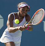 Sloane Stephens (USA) defeats Annika Beck (GER) 6-0, 6-3