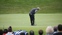 Soren Kjeldsen (DEN) in action on the 3rd during the Final Round of the British Masters 2015 supported by SkySports played on the Marquess Course at Woburn Golf Club, Little Brickhill, Milton Keynes, England.  11/10/2015. Picture: Golffile | David Lloyd<br /> <br /> All photos usage must carry mandatory copyright credit (© Golffile | David Lloyd)