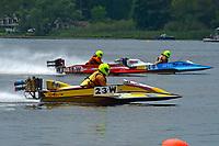 23-W, 18-W, 36-W   (Outboard Hydroplanes)