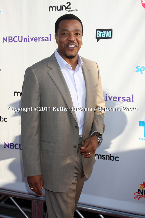 LOS ANGELES - AUG 1:  Russell Hornsby arriving at the NBC TCA Summer 2011 All Star Party at SLS Hotel on August 1, 2011 in Los Angeles, CA