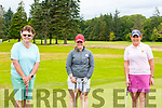 Mary Sheehy Tralee, Mairead Martin Kanturk and Ailish Mulcahy Killarney enjoying a round of golf in Killarney Golf and Fishing club on Sunday