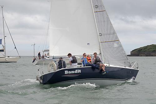 Richard Leonard's very fully-crewed Bolero Class Bandit