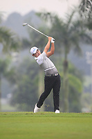 Sunghoon Kang (Asia) on the 6th fairway during the Saturday Foursomes of the Eurasia Cup at Glenmarie Golf and Country Club on the 13th January 2018.<br /> Picture:  Thos Caffrey / www.golffile.ie