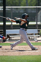 Melvin Mercedes - Oakland Athletics 2016 spring training (Bill Mitchell)