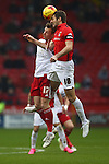 Sheffield United's Martyn Woolford and Coventry's Sam Ricketts - Sheffield United vs Coventry City - SkyBet League One - Bramall Lane - Sheffield - 13/12/2015 Pic Philip Oldham/SportImage