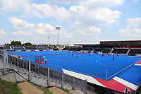 Lee Valley hockey and tennis centre during the Hockey World League Semi-Final match between Pakistan and India at the Olympic Park, London, England on 18 June 2017. Photo by Steve McCarthy.