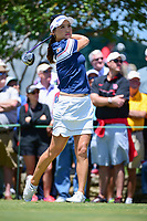 So Yeon Ryu (KOR) watches her tee shot on 10 during round 1 of  the Volunteers of America Texas Shootout Presented by JTBC, at the Las Colinas Country Club in Irving, Texas, USA. 4/27/2017.<br /> Picture: Golffile | Ken Murray<br /> <br /> <br /> All photo usage must carry mandatory copyright credit (&copy; Golffile | Ken Murray)