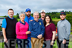 Patsy Sweeney enjoying his Castleisland Presidents day golf tournament on Sunday l-r: Niall Greaney, Jackie O'Connor, Brian Murphy Patsy Sweeney, Karle Hartnett, Kevin Kelleher