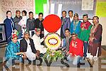The Bangladesh community of Killarney who celebrated International Mother Language Day in Killarney on Monday night front row l-r: Saifqr Rahman, Shahab Uddin Ali, MD. Abu-Tayub, Ariful Islam Ripon, Lokman Hossain. Back row: Garda Diane Collins, Mitan Heese, Abdul Malek, Kazi Jakir, Abdul Kuddus, Mozammel Hoque, Mohammed Salim, MD. Afsarul Islam, MD. Alamgir Alam, MD. Jahangir