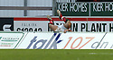 03/02/2007       Copyright Pic: James Stewart.File Name : sct_jspa16_falkirk_v_st_johnstone.KENNY MILNE GOES HEAD FIRST OVER THE ADVERTISING BOARDS......James Stewart Photo Agency 19 Carronlea Drive, Falkirk. FK2 8DN      Vat Reg No. 607 6932 25.Office     : +44 (0)1324 570906     .Mobile   : +44 (0)7721 416997.Fax         : +44 (0)1324 570906.E-mail  :  jim@jspa.co.uk.If you require further information then contact Jim Stewart on any of the numbers above.........