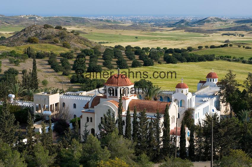 CYPRUS, monastery of Metamorphosis  between Nicosia and Larnaca<br />