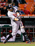18 May 2007: Baltimore Orioles first baseman Kevin Millar in action against the Washington Nationals at RFK Stadium in Washington, DC. The Orioles defeated the Nationals 5-4 in the first game of the 3-game interleague series...Mandatory Photo Credit: Ed Wolfstein Photo
