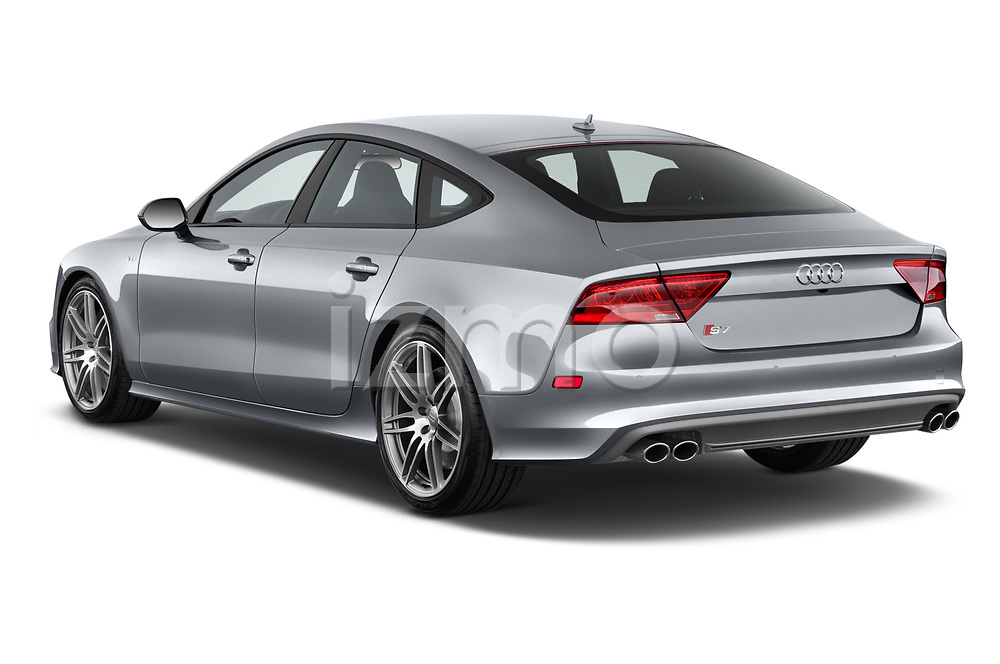 Car pictures of rear three quarter view of 2015 Audi S7 Base 4 Door Sedan angular rear