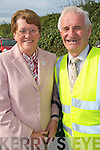 HELPERS: Bri?d Cronin, Killarney and Tom O'Connor, Ballyheigue who helped organise the Pattern day Mass at our Lady's Well in Ballyheigue on Monday.   Copyright Kerry's Eye 2008