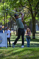 Shubhankar Sharma (IND) watches his tee shot on 7 during round 1 of the World Golf Championships, Mexico, Club De Golf Chapultepec, Mexico City, Mexico. 2/21/2019.<br /> Picture: Golffile | Ken Murray<br /> <br /> <br /> All photo usage must carry mandatory copyright credit (© Golffile | Ken Murray)