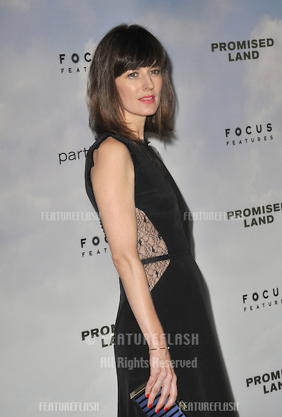 "Rosemarie DeWitt at the Los Angeles premiere of her new movie ""Promised Land"" at the Directors Guild Theatre..December 6, 2012  Los Angeles, CA.Picture: Paul Smith / Featureflash"
