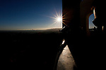Sunset from the Observatory