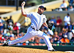11 March 2009: Detroit Tigers' pitcher Scott Williamson on the mound during a Spring Training game against the New York Yankees at Joker Marchant Stadium in Lakeland, Florida. The Tigers defeated the Yankees 7-4 in the Grapefruit League matchup. Mandatory Photo Credit: Ed Wolfstein Photo