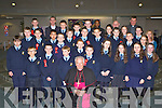 Pupils from Maria Ryan class in St Oliver's NS who made their Confirmation in the Church of the Ressurection Killarney on Wednesday with Bishop Bill Murphy, Fr Cieran O'Brien, Fr Moses Muraya, Fr Pat Horgan and  Fr Niall Howard..