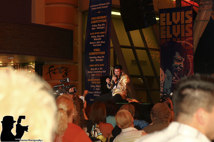 Fremont Street Experience hosts the 2nd Annual Ultimate Elvis competion