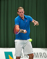Januari 24, 2015, Rotterdam, ABNAMRO, Supermatch, Ricardo van Zutphen<br /> Photo: Tennisimages/Henk Koster