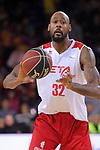 League ACB-ENDESA 2017/2018 - Game: 20.<br /> FC Barcelona Lassa vs Retabet Bilbao Basket: 90-58.<br /> Mickell Gladness.