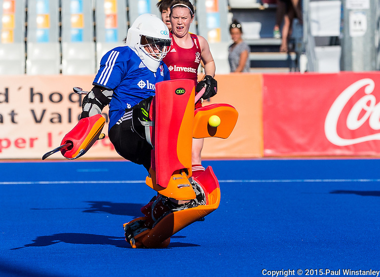 Great Britain vs China in the Final at World League Semi Finals in Valencia, Spain