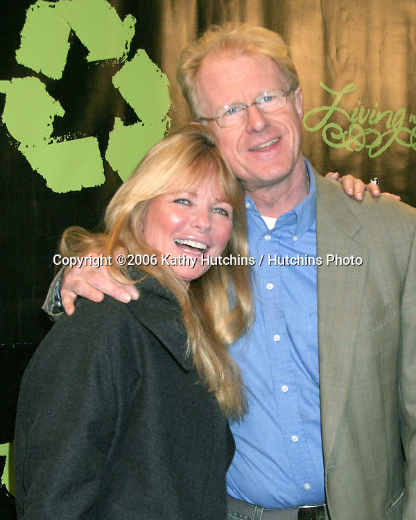 "Cheryl Tiegs & Ed Begley Jr .""Living With Ed"" Premiere Screening & Party.Sunset Lammle Theater.Los Angeles, CA.December 21,  2006.©2006 Kathy Hutchins / Hutchins Photo...."