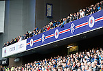 PUMA removed from the advertising hoardings on the Sandy Jardine Stand at Ibrox