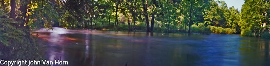 Pinhole Panoramic Photograph
